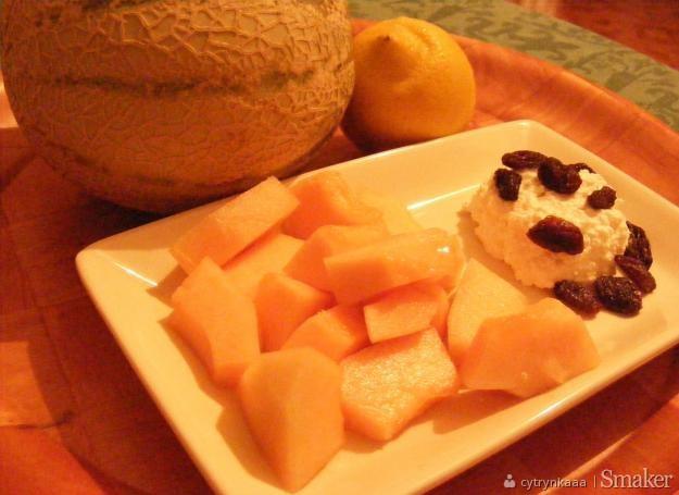 Melonowe Co Nie Co Z Twarożkiem