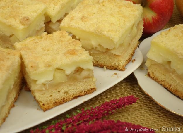 Anielska Kuchnia Ciasto Z Jabłkami I Budyniem Przepisy Jak