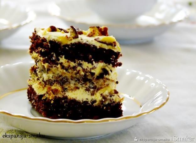 ciasto czekoladowe z niespodzianką