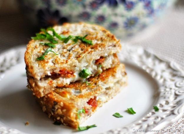 Grzanki z gorgonzolą