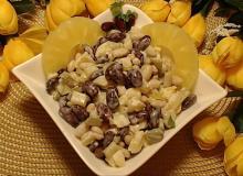 Salatka Z Czerwona Fasola Serem I Ananasem Przepisy Jak Zrobic