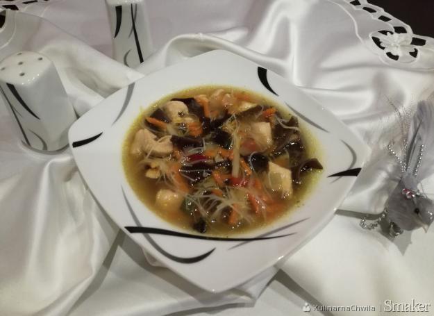 Zupa Chińska Z Kurczakiem