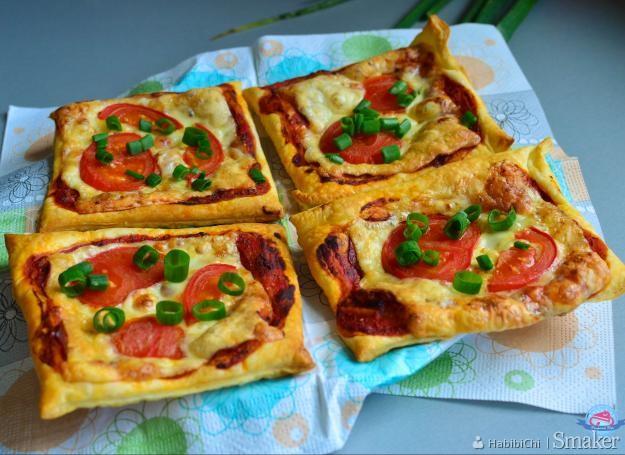 Mini pizze z ciasta