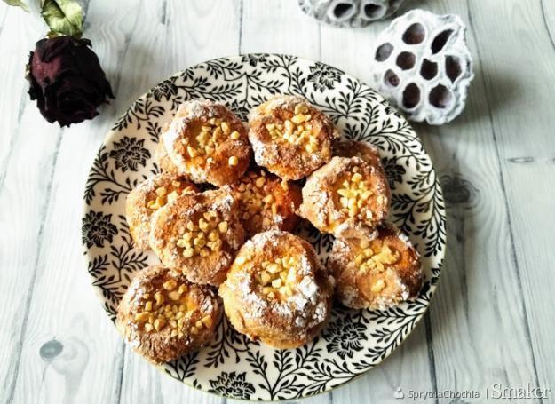 Migdałowo-miodowe ciastka z białek