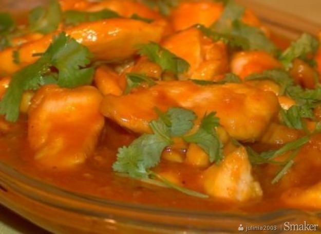 Kurczak W Sosie Mango Indyjski Przepisy Jak Zrobic Smaker Pl
