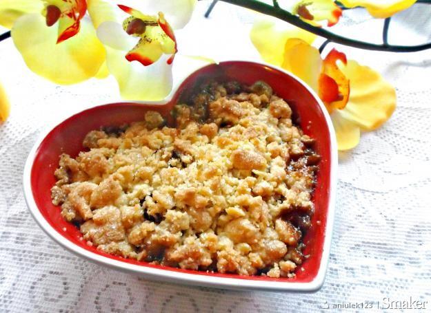 Jablkowe Crumble Kuchnia Francuska Przepisy Jak Zrobic Smaker Pl