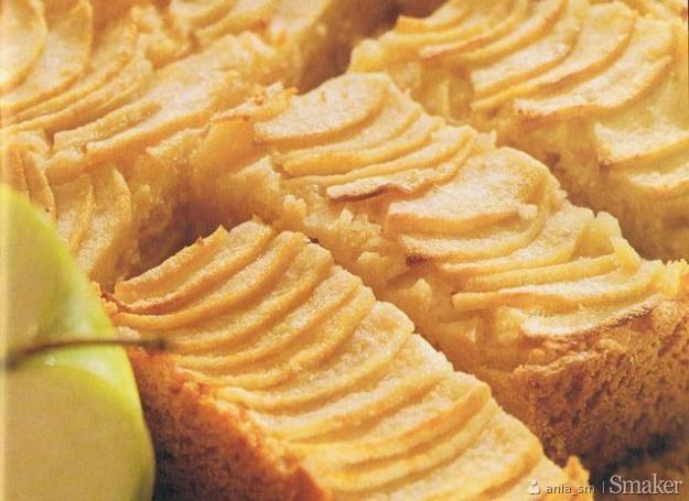 ciasto maślankowe z jabłkami