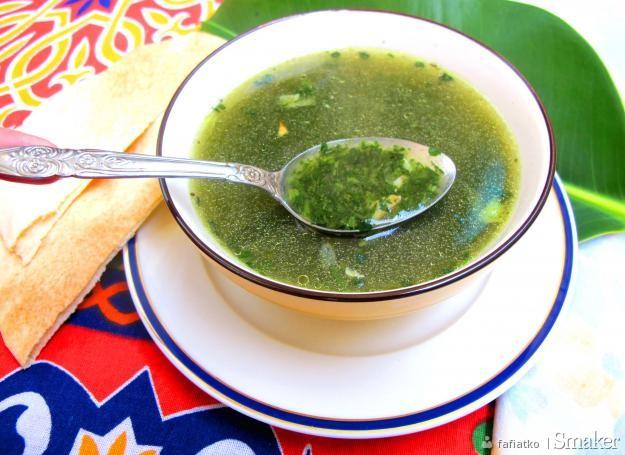 Molokheja Narodowa Egipska Zupa
