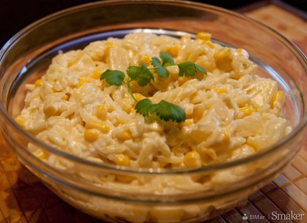 Salatka Z Surimi Z Makaronem Ryzowym I Ananasem Przepisy Jak